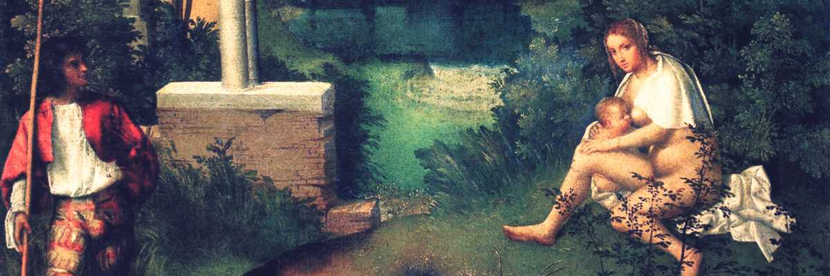 The Storm by Giorgione.
