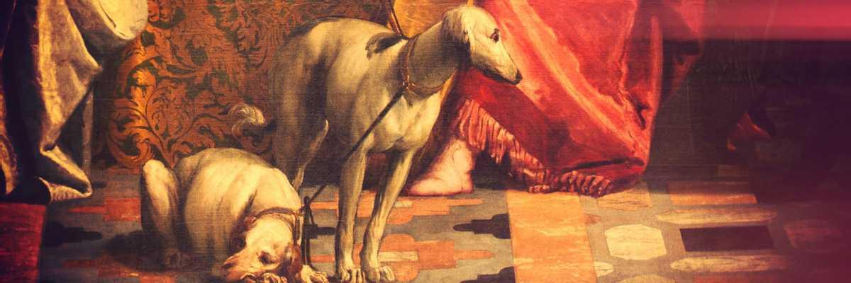 Frammento di un dipinto di Paolo Calieri.