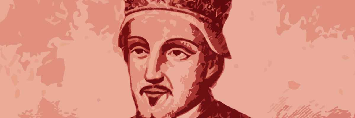 Incisione del doge Candiano Pietro II.