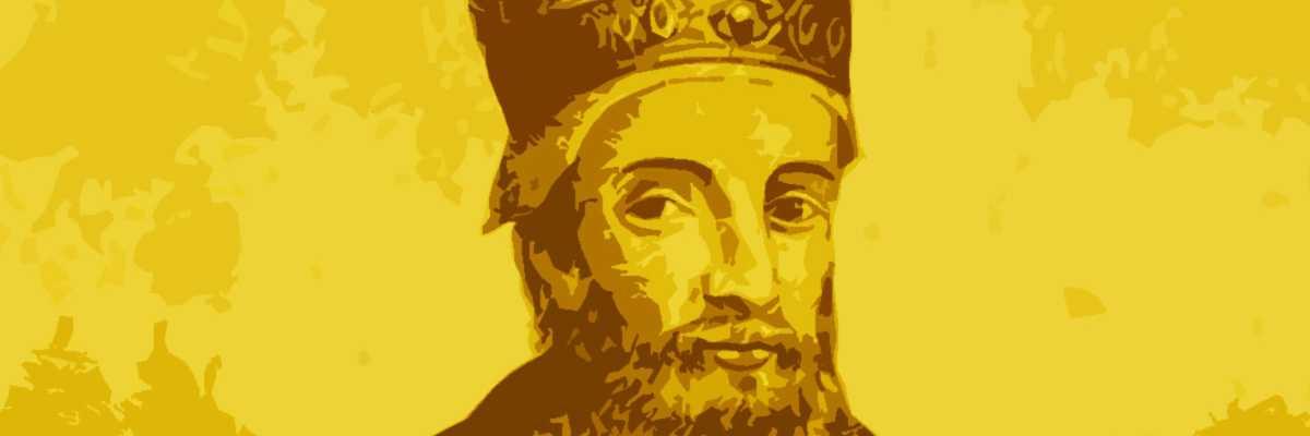 Incisione raffigurante il doge Ottone Orseolo.