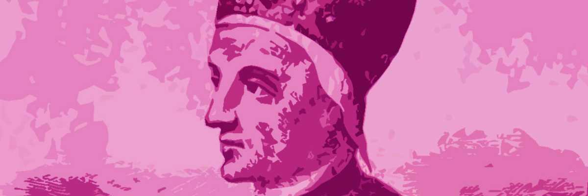Incisione raffigurante il doge Tommaso Mocenigo