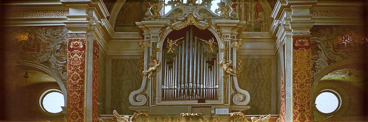 L'organo di Gaetano Callido nella Chiesa di San Martino (foto di Didier Descouens).