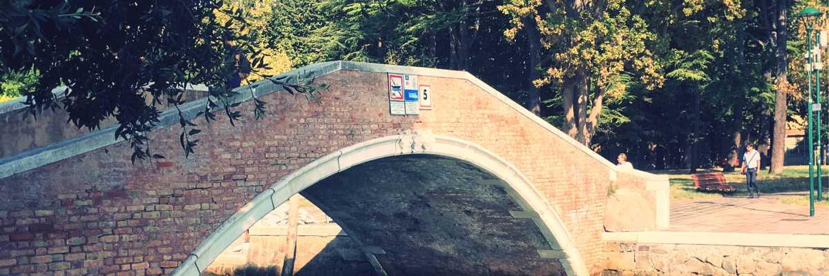 Ponte dei Giardini a Sant'Elena.
