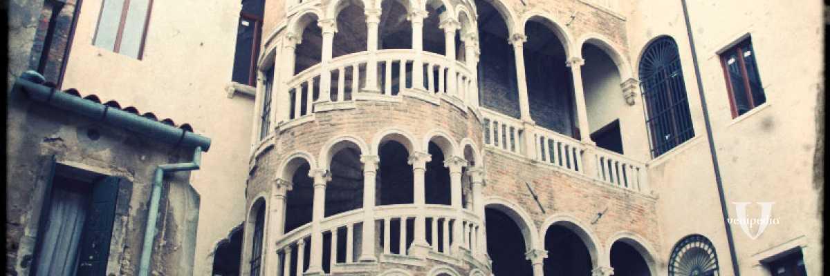 Vista sulla Scala del Bovolo — (Archivio Venipedia/Bazzmann)