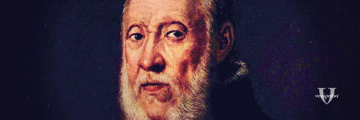 Ritratto di Jacopo Tatti detto il Sansovino, opera di Jacopo Tintoretto (1560 - 1570).