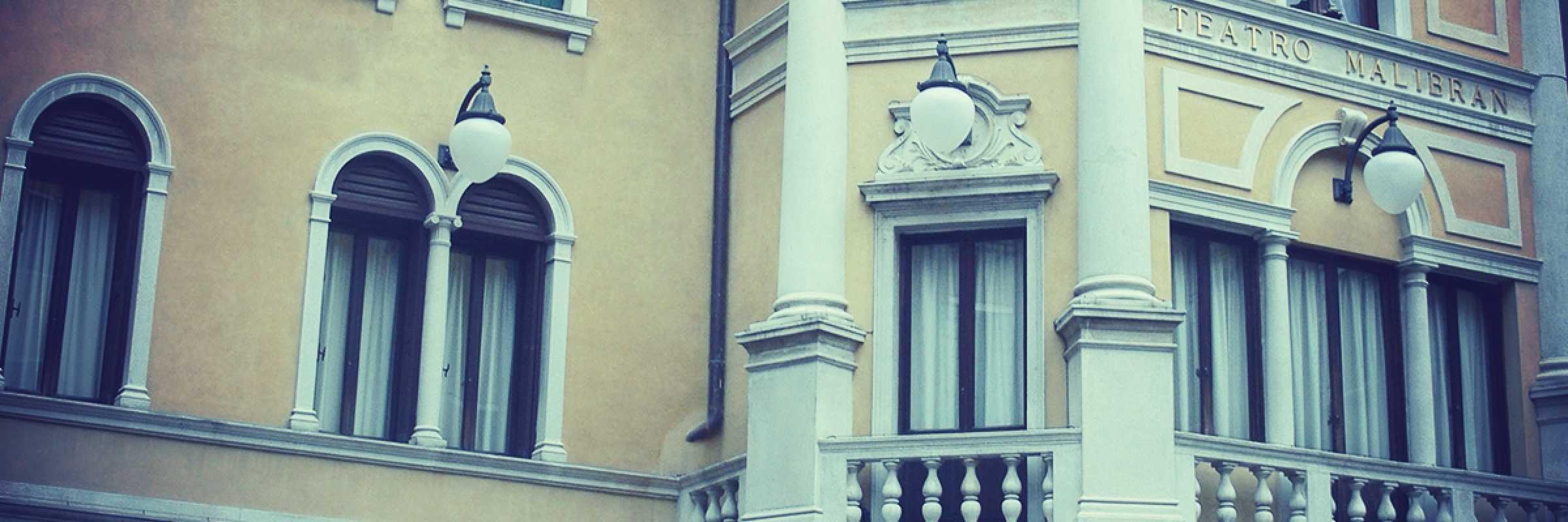 Ingresso del Teatro Malibran di Venezia