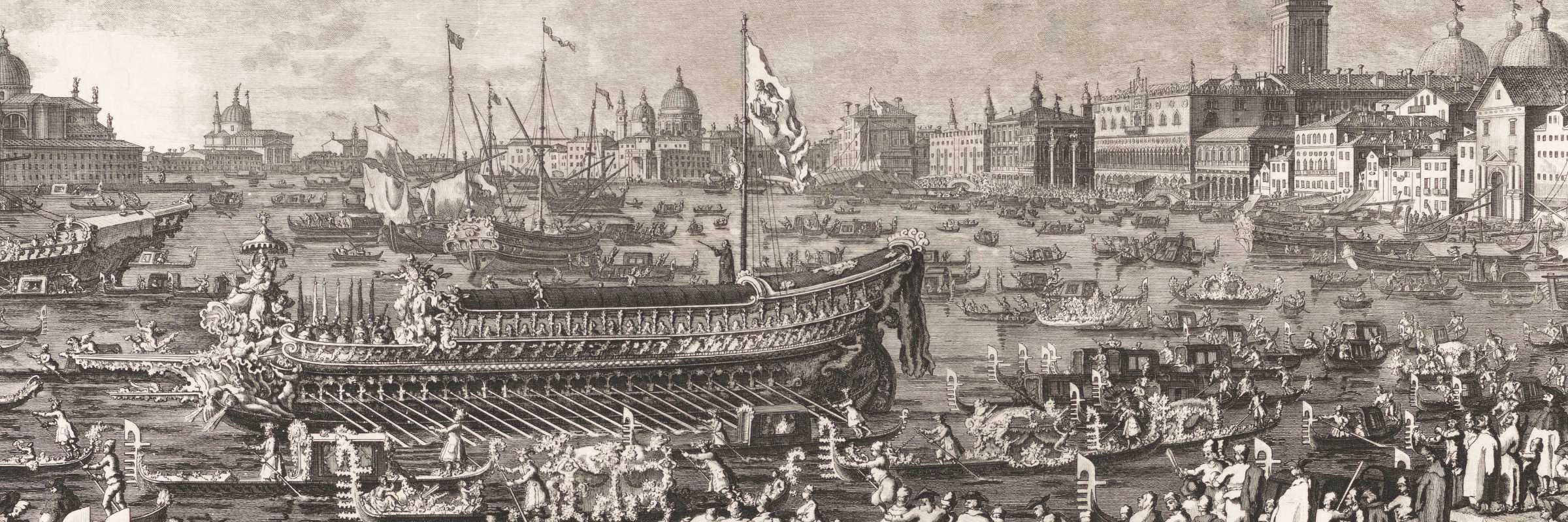 Festa della Sensa, Giovanni Battista Brustoloni, 1766 (Rijksmuseum)
