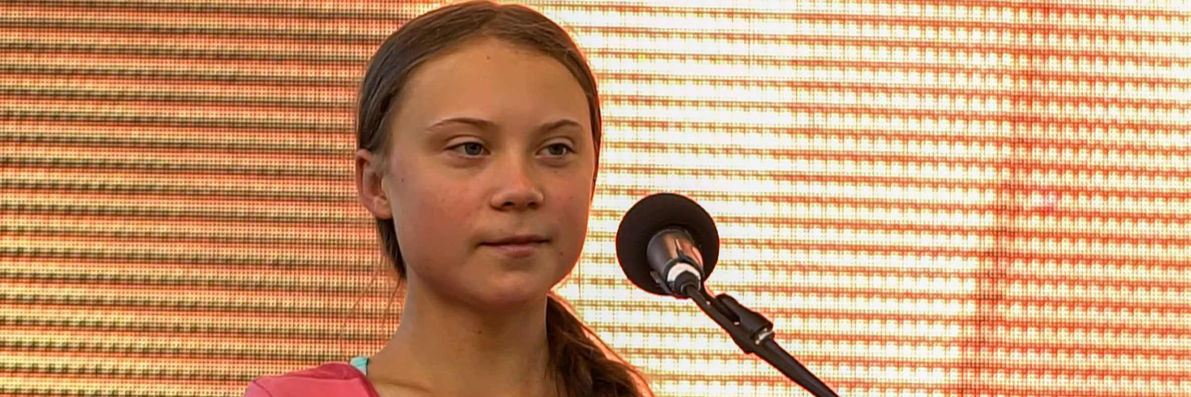 Greta Thunberg al Global Climate Strike del 2019, New York City (Twenty20)