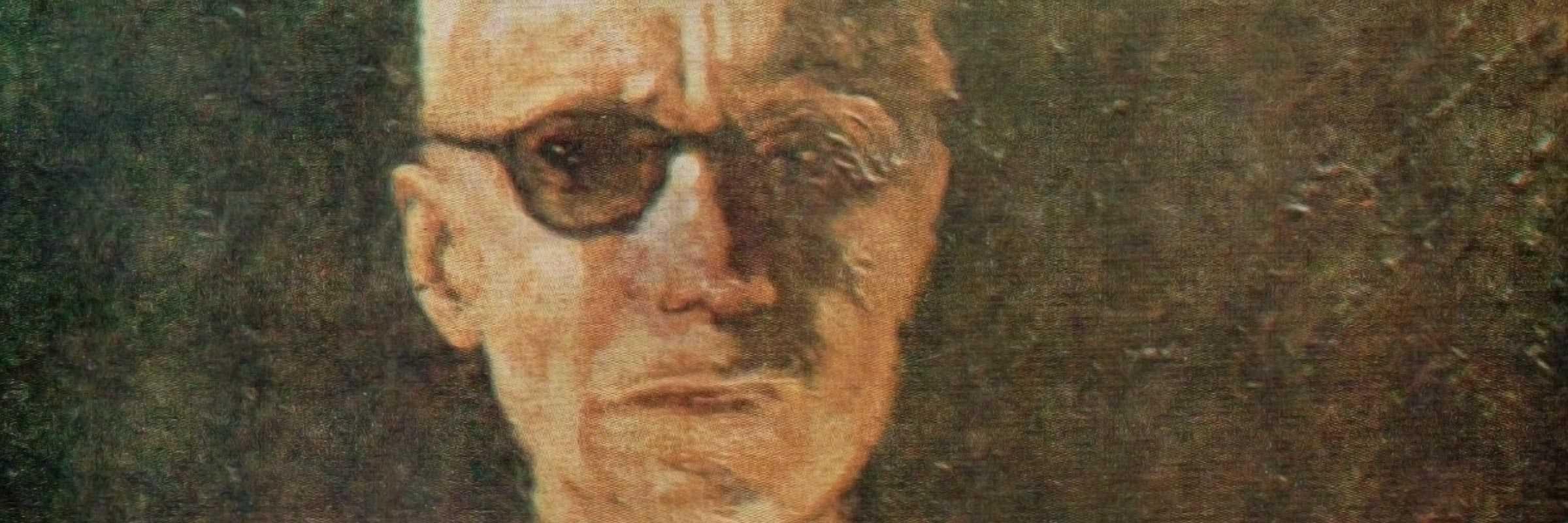 Giuseppe Canali, autoritratto.