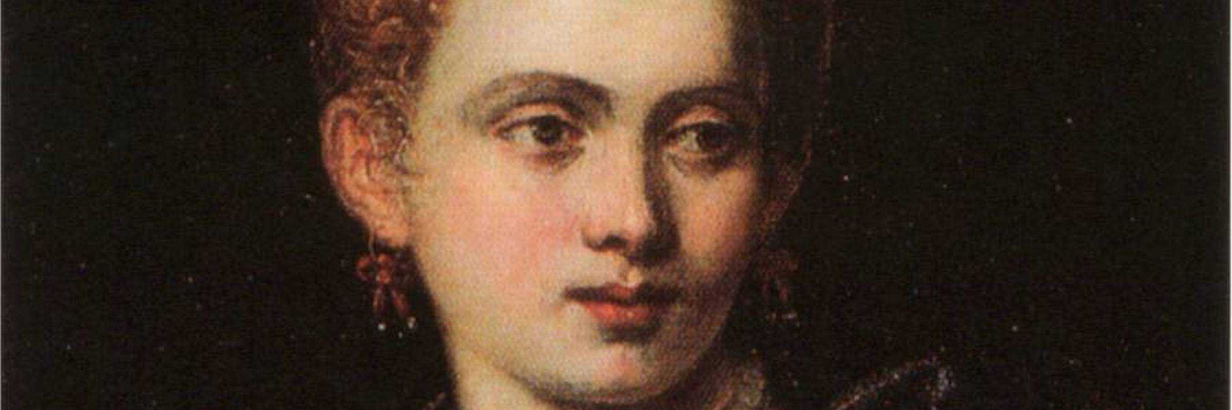 Ritratto di Veronica Franco di Paolo Caliari noto come Veronese, oggi conservato nel Worcester Art Museum.