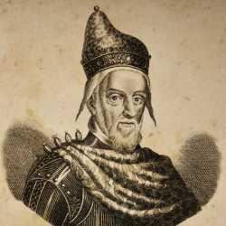 Incisione raffigurante il doge Francesco Erizzo