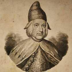 Incisione raffigurante il doge Marco Foscarini