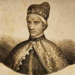 Incisione raffigurante il doge Lorenzo Celsi.