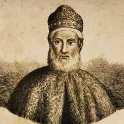 Incisione raffigurante il doge Bartolomeo Gradenigo