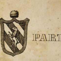 Lo stemma del doge Angelo Partecipazio