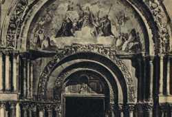 Entrance portal of the Basilica of Saint Mark