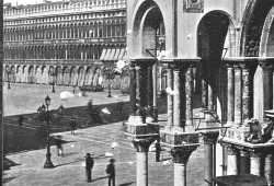 Unusual corner of Piazza San Marco seen from Palazzo Ducale (Brooklyn Museum).