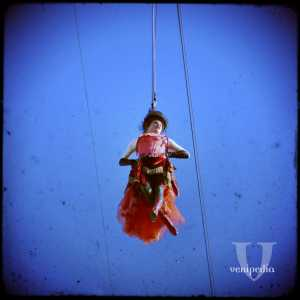 La Colombina in volo.
