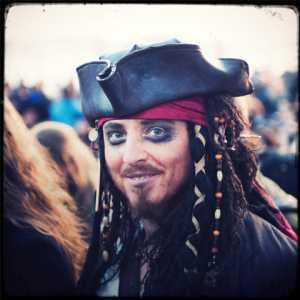 Un pirata dei Caraibi a Venezia! (Archivio Venipedia/Bazzmann)