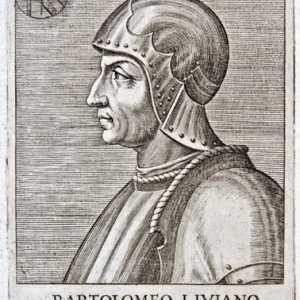 Bartolomeo d'Alviano, incisione XVI secolo