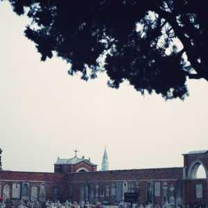 Vista sul campanile di San Marco (sullo sfondo)