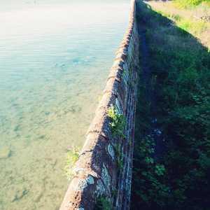 Particolare del muro di cinta. — (Archivio Venipedia/Bazzmann)