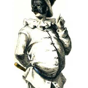 Maschera Pulcinella.