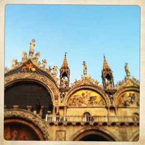 The St Mark's Basilica