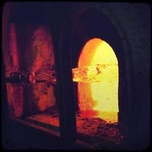 A furnace.
