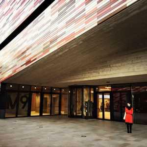 L'ingresso principale al Museo del Novecento.