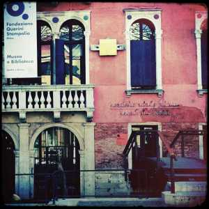 The entrance to the Querini Stampalia Museum.