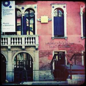 L'ingresso al Museo Querini Stampalia.