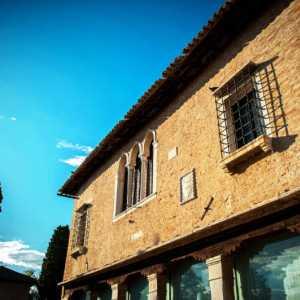 Main facade of the Archive Building — (Archivio Bazzmann/Venipedia)