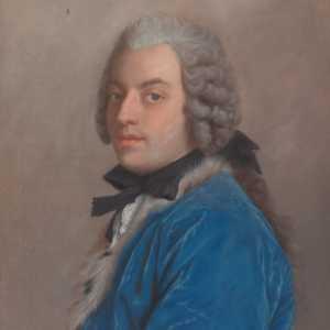 Ritratto di Francesco Algarotti realizzato da Jean-Étienne Liotard.
