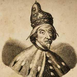 Incisione raffigurante il doge Giovanni Pesaro