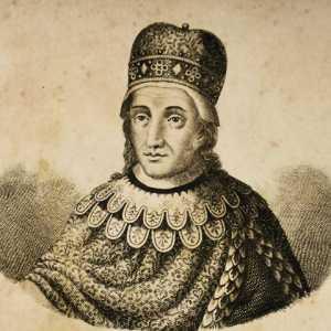 Incisione raffigurante il doge Pietro Candiano IV.