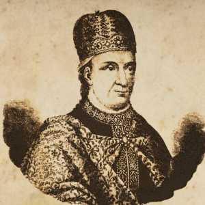 Incisione raffigurante il doge Antenorio Obelerio.