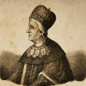 Incisione raffigurante il doge Pietro Orseolo I.