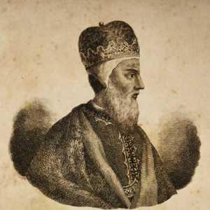 Incisione raffigurante il doge Giustiniano Partecipazio.