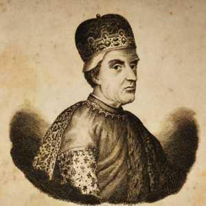 Incisione raffigurante il doge Pietro Tradonico.