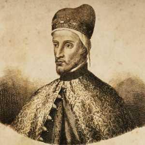 Incisione raffigurante il doge Andrea Contarini.