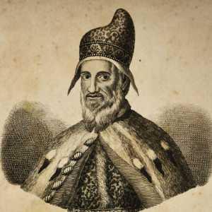 Incisione raffigurante il doge Giovanni Bembo