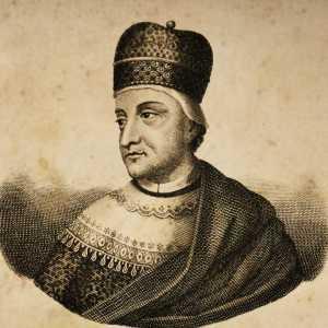 Incisione raffigurante il doge Pietro Centranico.