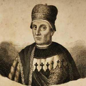 Incisione raffigurante il doge Domenico I Contarini.