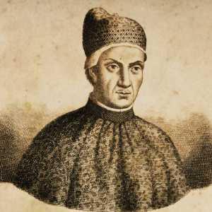Incisione raffigurante il doge Francesco Dandolo.