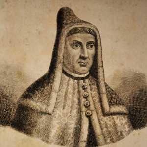 Incisione raffigurante il doge Giovanni Dolfin.