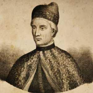 Incisione raffigurante il doge Giovanni Gradenigo.