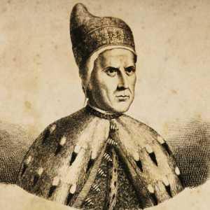 Incisione raffigurante il doge Antonio Grimani