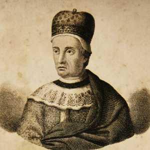 Incisione raffigurante il doge Vitale Michiel I.