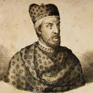Incisione raffigurante il doge Marino Morosini.